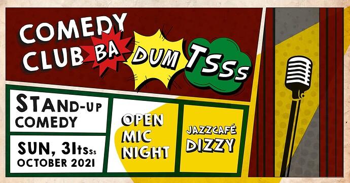 comedyclubbadumtss FB event open mic